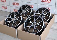 BBS SR vulcano grau 4 Felgen 17 Zoll ET48 SR025 für VW Polo (VI) Typ AW mit ABE