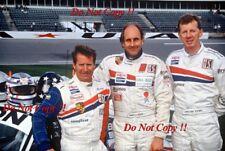 Walter Rohrl & Hurley Haywood & Hans Stuck Porsche 911 Daytona 1994 Photograph 1