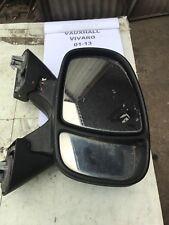 2002-12 Vauxhall Vivaro Os Drivers  ) Wing Mirror
