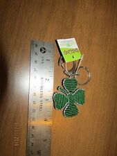 4 Leaf Clover,  Key Ring, Grass Roots ,Bead Worx.