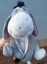 "Winnie the Pooh Eeyore 17"" Plush Stuffed Animal Toy Disney Store Authentic Euc!"