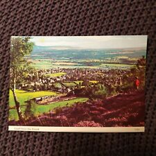 Crieff from the Knock - Vintage Postcard