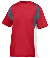 Augusta Sportswear Men's Crewneck Short Sleeve Quasar Sports T-Shirt. 1515