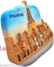 Myanmar Burma Shwedagon Golden Pagoda 3D Resin Fridge Magnet Refrigerator