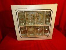 Vintage Libbey Glassware Set of 8 Hostess Set Beverage Glasses NIB Rare Antique