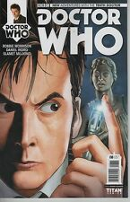 Doctor Who #8 New Adventures with 10th Doctor comic book TV show Weeping Angels