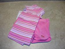 Gymboree Pool Party 2 pc Short Set Flip Flop Shop pink SZ 4 s/s terry cloth NWT