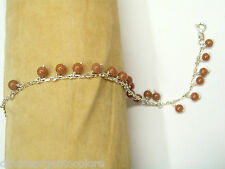 Bracciale in Argento 925 con Pietre dure sintetiche colorate - Braccialetto -