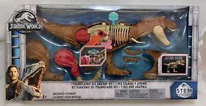 MATTEL JURASSIC PARK World TYRANNOSAURUS REX ANATOMY STEM KIT Dinosaur Skeleton