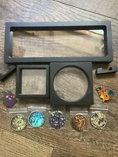 Pokemon Coins Amp Pins With Clear Display Caseframe For Collectibles