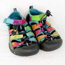 Keen Kids' Newport H2 1018441 Sandals, Kid's Size 2, Rainbow Tie Dye