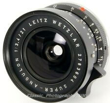 LEICA Super-ANGULON 1:3.4 / 21mm Ultra-Wide-Angle Lens by LEITZ for Leica M9 M10