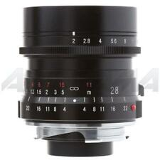Voigtlander Ultron 28mm f/2.0 Lens with Leica M Mount - Black #BA288A