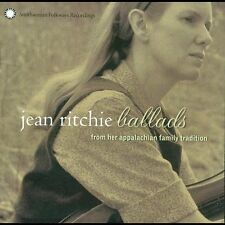 Ballads from Her Appalachian Family Tradition by Jean Ritchie (CD, Apr-2003,...