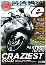 Bike Dec 2009 Hayabusa ZZR1400 K1300S Brutale 1090RR Ducati 796 Rocket Roadster