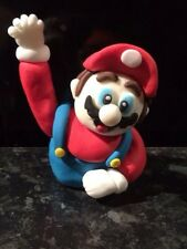 Edible Mario Cake Birthday Topper Icing Decoration