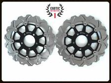 Front Brake Disc Rotors Set For Suzuki GSXR 600 GSXR 750 2004/2005 Wave Rotors