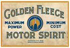 GOLDEN FLEECE Motor Spirit  Tin Sign 20 x 30 cm