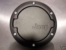 JK Jeep Wrangler BLACK FUEL FILLER cover 4 door OEM NEW 82210609 82210609ab