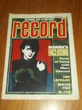 RECORD MIRROR DECEMBER 24 1983 DEF LEPPARD BUCKS FIZZ SLADE MARC ALMOND