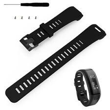 DE Für Garmin Vivosmart HR Uhr Ersatz Silikon Uhrenarmband Strap Armband + Tool
