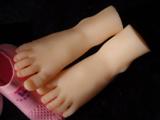 Top Quality Silicone Cute Little Feet Model Display Shoessocks 1 Pair