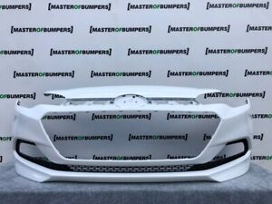 HYUNDAI I20 i20 MK2 2015-2018 FRONT BUMPER IN WHITE GENUINE [H151]
