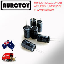 LCD TV Monitor Capacitor Repair Kit for LG 42LC7D-UB EAY36769701 42LC55 LIPS42V2
