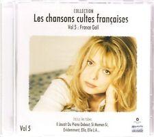 CD France GALL - Les chansons cultes françaises Neuf sous cellophane RARE