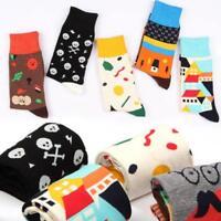 New Casual Cotton Socks Design Multi-Color Fashion Dress Men's Women's Socks Pro
