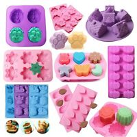 3D Silicone Fondant Mold Cake Decorating Candy Chocolate Baking Mold Soap Mould