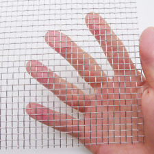 Stainless Steel Woven Wire Mesh Roll, Metal Mesh Sheet, Window Screen Mesh - 5 M