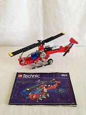LEGO TECHNIC 8812 AERO HAWK II HELICOPTER 100% COMPLETE