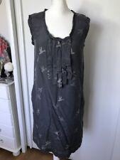 Gap Womens Grey Silk Blend Dress Size Small Petite UK 8-10