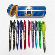 Pilot Frixion Pluma Pot-College Edition 5 borrable Plumas + 5 Rotuladores borrable