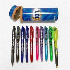 Pilot Frixion Pen Pot -College Edition 5 Erasable Pens + 5 Erasable Highlighters