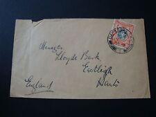 Kenya Uganda 1941 Used Air Mail Cover 20c Rate To England GB Daressalaam Pmk
