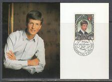 Liechtenstein Scott 864 Maxim Card - Prince Alois