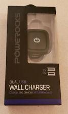 Powerocks High Efficiency Micro USB Wall Charger 2 Ports