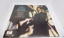 Tom Jones Fever Zone PAS71019 LP 33 RPM Record Parrot