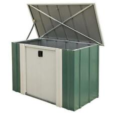 4' x 2' METAL SHED NEW 4x2 GARDEN SHEDS CARAVAN STORE LOCKABLE STORAGE 4ft x 2ft