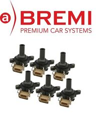 For BMW E36 E39 E46 E53 96-03 Ignition Coil Set of 6 OEM BREMI/STI 12131748018
