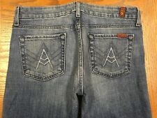 7 FAM 7 FOR ALL MANKIND A POCKET BOOTCUT JEANS ACTUAL  32 x 33 Tag 30 BEST G92u