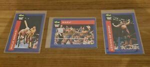 WWF & WWE Signed Autographed Haku,Legion Of Doom Hawk ,Hulk Hogan