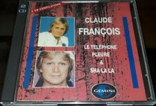 CLAUDE FRANCOIS RARE DOUBLE CD GEMINI 2 CD COMPILATIONS