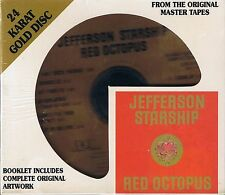 Jefferson Starship Red Octopus DCC ORO CD NUOVO OVP SEALED gzs-1110