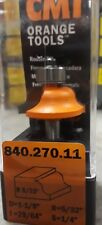 """CMT 840.270.11 Roman ogee Router Bit 1/4-Inch Shank 5/32"""" Radius Carbide-Tipped"""