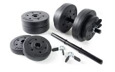 CAP BARBELL 40-POUND ADJUSTABLE VINYL DUMBBELL WEIGHT SET 40Lb FAST SHIPPING!!