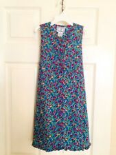 New Cornelloki Floral Print Button Front Boutique Brand Girls Dress Size 3-4 yrs