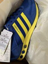 adidas Originals LA Trainer - Royal Blue & Yellow  Trainers Uk 10 Leeds Utd